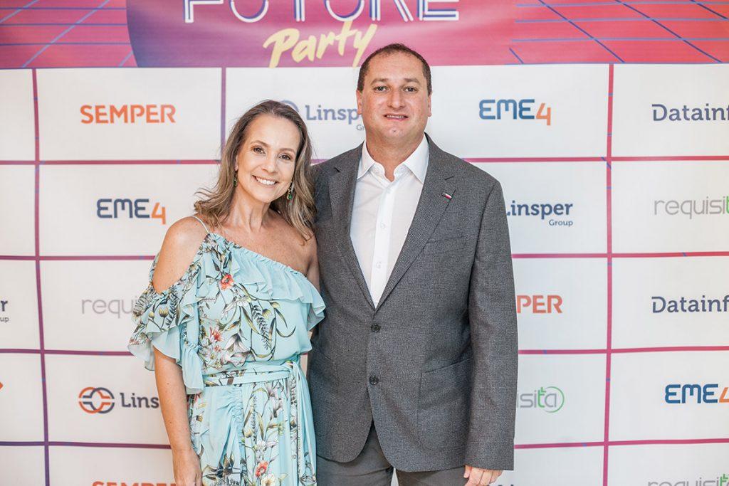 Diretores Márcio e Ana Paula
