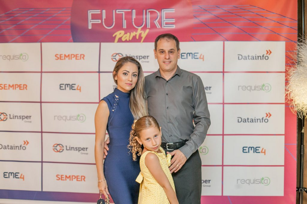 Diretor Marcelo e família